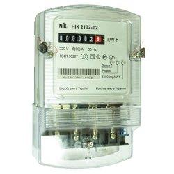 Однофазный счетчик НИК 2102-02 М1В 220В (5-60)А 6400